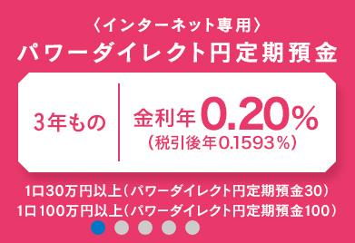 新生銀行|円定期預金